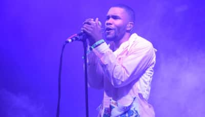 Frank Ocean dismissed right-wing conspiracy theories and voter suppression on blonded Radio