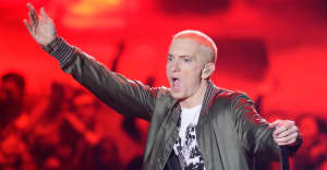 Eminem really likes Chris D'Elia's impression of him