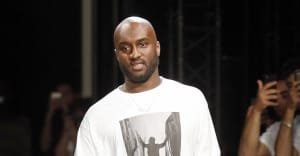 Virgil Abloh and Kanye West got very emotional at the Louis Vuitton SS19 showing