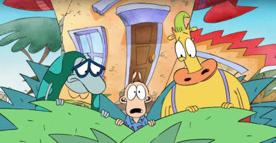 Watch A Sneak Peak Of Nickelodeon's Upcoming Rocko's Modern Life Reboot