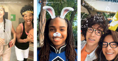 Instagram Has Snapchat-Style Face Filters Now