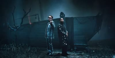 "J Balvin and Khalid connect on ""Otra Noche Sin Ti"""
