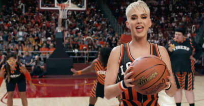 "Watch Katy Perry's New Video For ""Swish Swish"" Featuring Nicki Minaj"