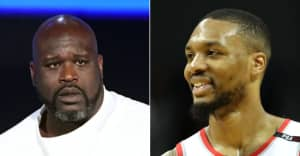 Damian Lillard and Shaq are already trading diss tracks