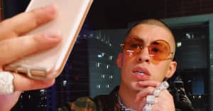 Bad Bunny is the king of sunglasses style