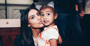 Kim Kardashian says North West is the reason why Kanye West is making glow-in-the-dark Yeezys