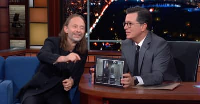 Watch Thom Yorke discuss ANIMA, Brexit with Stephen Colbert