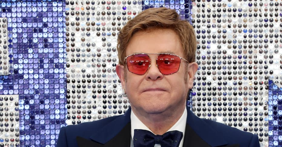 """Elton John says he refused to tone down the """"sex and drugs"""" in Rocketman"""
