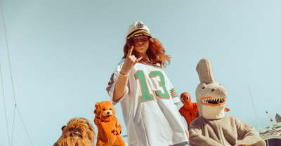"""Payday hits the sea with Spider-Man and Chewbacca in her """"Dolphin"""" video"""