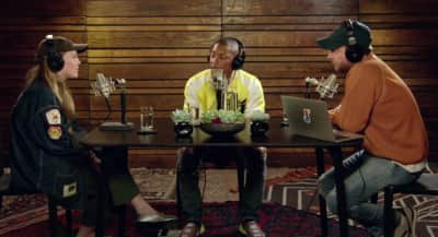 "Watch Maggie Rogers Talk ""Alaska"" And More With Pharrell On His Beats1 Radio Show"