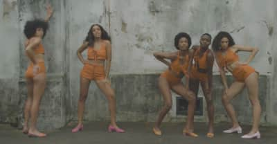 "These Are The Shoes Solange Wore In The ""Don't Touch My Hair"" Video"