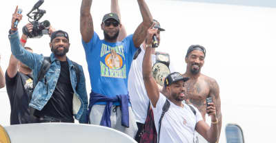 The Summer Of Shirtless J.R. Smith Is Here