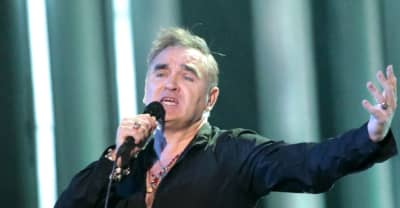 Morrissey is signing and selling copies of other peoples' classic albums