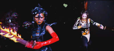 """Watch Grimes And Janelle Monáe's """"Venus Fly"""" Video"""