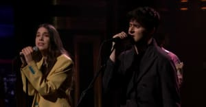 Vampire Weekend and HAIM performed Father of the Bride songs on Fallon