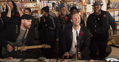 Watch Coldplay cover Prince on NPR's Tiny Desk Concert
