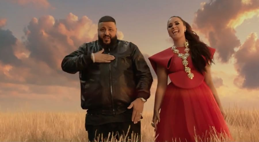 """Watch Demi Lovato and DJ Khaled's """"I Believe"""" video 