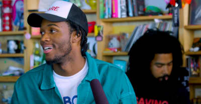 Watch Saba's Tiny Desk Concert