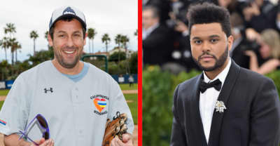 The Weeknd will appear alongside Adam Sandler in crime thriller Uncut Gems