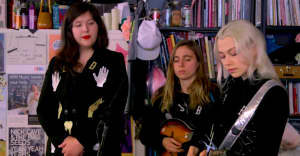 Watch Boygenius's Tiny Desk Concert
