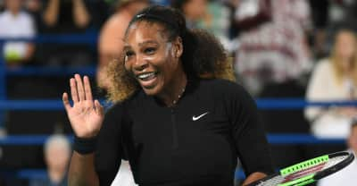 Serena Williams returned to the tennis court