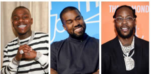 """Kanye West enlists DaBaby and 2 Chainz for """"Nah Nah Nah"""" remix"""