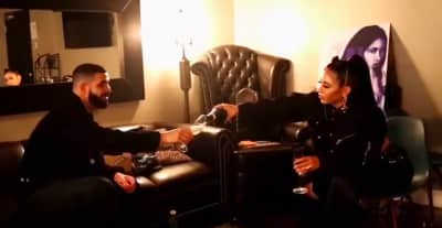 Watch Kali Uchis sip wine with Drake in new Isolation tour recap video
