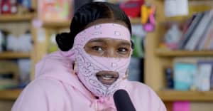 Watch Leikeli47's Tiny Desk Concert