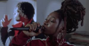 "Little Simz takes it to her pirate radio days in the ""101 FM"" video"