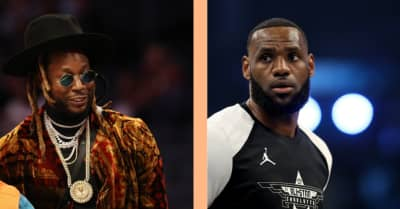 LeBron James worked as an A&R on 2 Chainz's upcoming album