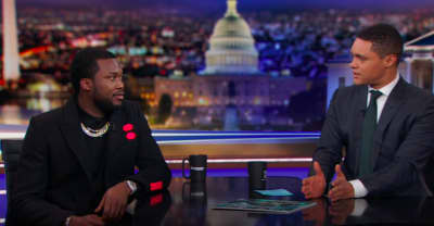 Watch Meek Mill talk prison reform with Trevor Noah