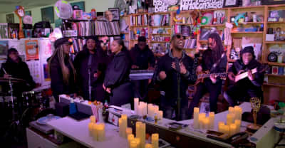 dvsn bring candles and vibes for their Tiny Desk Concert