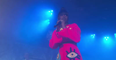 "Watch Tierra Whack perform ""Only Child"" and ""Hungry Hippo"" on Kimmel"