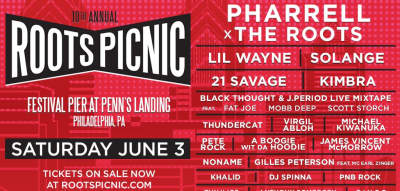 Pharrell, Solange, Lil Wayne, And More To Play 10th Annual Roots Picnic