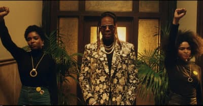 """2 Chainz travels through time in his """"Money In The Way"""" video"""