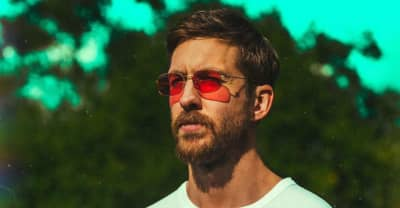"Watch Calvin Harris Re-Create The Beat For ""Slide"""