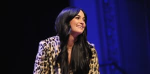 "Kacey Musgraves shares a live video performance of ""Slow Burn"""
