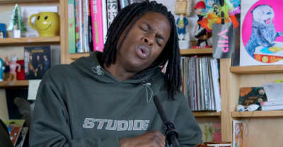 Watch Daniel Caesar's Tiny Desk for NPR
