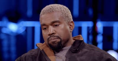 Kanye plays it safe, chats about velcro in trailer for new David Letterman interview
