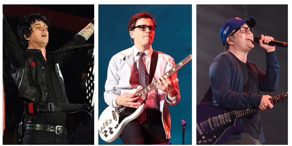 """Green Day, Fall Out Boy, and Weezer each share new singles ahead of """"Hella Mega"""" tour"""