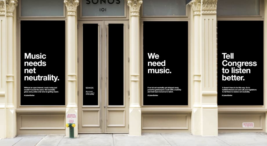 Sonos is fighting for an open internet to save music