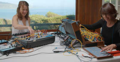 Suzanne Ciani And Kaitlyn Aurelia Smith Compose By The Ocean In Sunergy Film