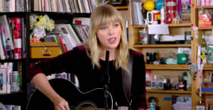 Watch Taylor Swift's Tiny Desk Concert
