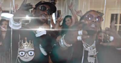 "Party with Gucci Mane and Offset in the ""Met Gala"" music video"