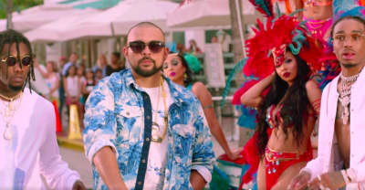 "Sean Paul And Migos Take Over Miami In Their ""Body"" Video"