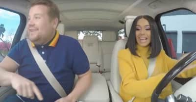 Watch a preview of Cardi B on Carpool Karaoke