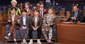Watch BTS perform two songs, chat on The Tonight Show