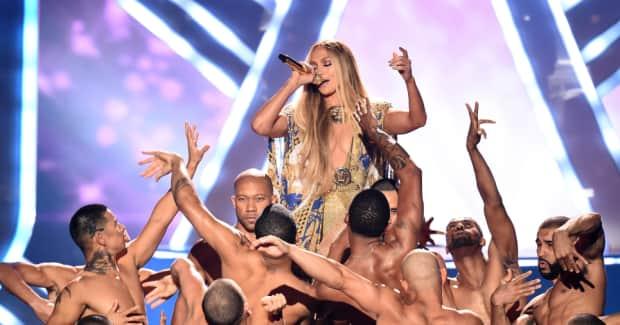 Watch Jennifer Lopez's career-spanning VMA Video Vanguard performance
