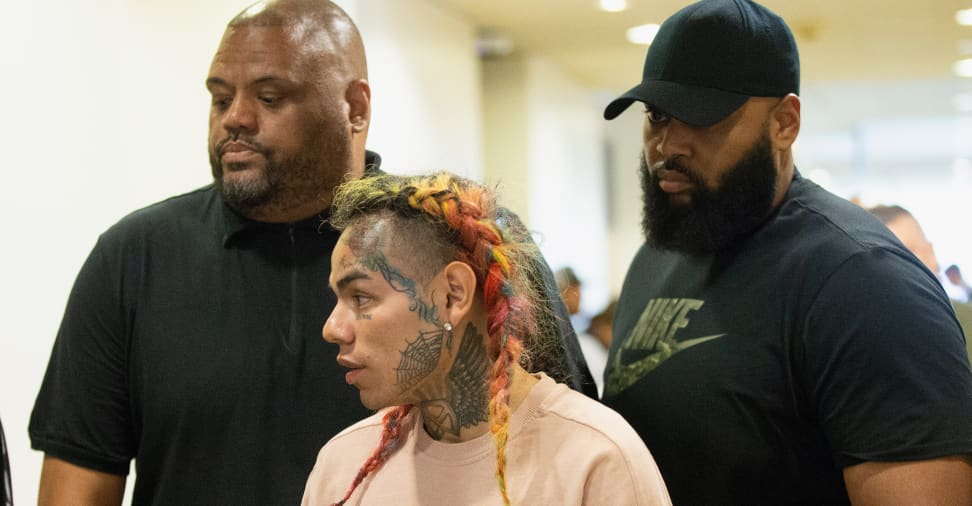 6ix9ine has been released from prison