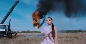 """Watch Charli XCX's video for """"White Mercedes"""""""